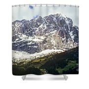 South Tyrol Shower Curtain