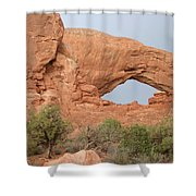 South Window Arches National Park Shower Curtain