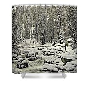 South Yuba River Shower Curtain