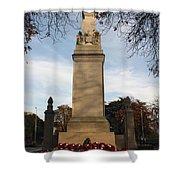 Southampton Cenotaph Hampshire Shower Curtain