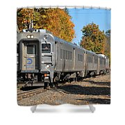 Southbound At Sloatsburg Shower Curtain