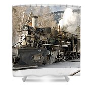 Southbound Through Rockwood Shower Curtain