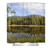 Southeast Summer Shower Curtain
