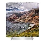 Souther California Coast Shower Curtain