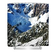 Southern Alps New Zealand Shower Curtain