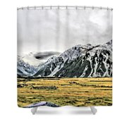 Southern Alps Nz Shower Curtain