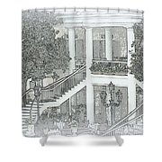 Southern Appeal Shower Curtain