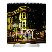 Southern California Streets At Sunset Shower Curtain