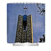 Southern California's Wafarers Chapel 1 Shower Curtain