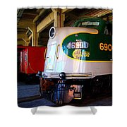 Southern Crescent And Company Shower Curtain