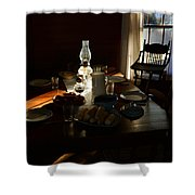 Southern Dinning Shower Curtain