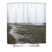 Southern Ebb And Flow Shower Curtain