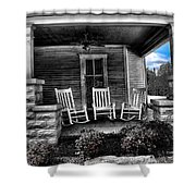 Southern Front Porch 1 Shower Curtain