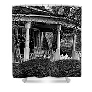 Southern Front Porch 4 Shower Curtain