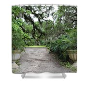 Southern Garden Welcome Shower Curtain