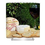 Southern Hemisphere Christmas Lunch Shower Curtain