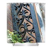 Southern Ironwork Shower Curtain