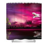 Southern Magic Shower Curtain