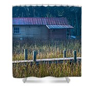 Southern Marsh Shower Curtain