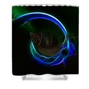 Southern Northern Lights Shower Curtain