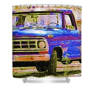 Southern Ride Two Shower Curtain