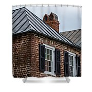 Southern Rooftops Shower Curtain