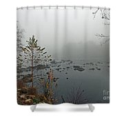 Southern Shores Shower Curtain