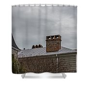 Southern Sky Line Shower Curtain