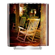 Southern Sunday Afternoon Shower Curtain by Susanne Van Hulst