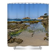 Aliso Creek Beach I I Shower Curtain
