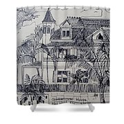 Southernmost House  Key West Florida Shower Curtain
