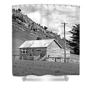 Southland Farmhouse Shower Curtain