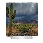 Southwest Monsoon Skies  Shower Curtain