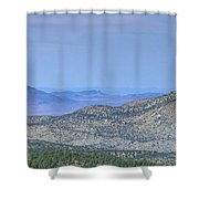 Southwest Views Shower Curtain