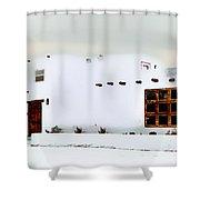 Southwestern Pueblo  Shower Curtain