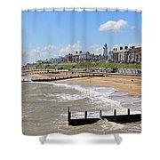 Southwold Beach 2 Shower Curtain