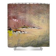 Souvenir De Vacances #23 - Memory Of A Vacation #23 Shower Curtain