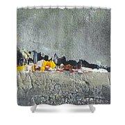 Souvenir De Vacances #27 - Memory Of A Vacation #27 Shower Curtain