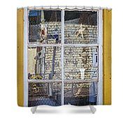 Souvenir Store Window Shower Curtain by Elena Elisseeva