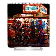 Souvenirs And Fair Gifts Shower Curtain