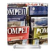 Souvenirs Of Pompei Shower Curtain
