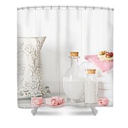 Spa Setting Shower Curtain