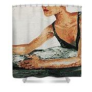 Spacatto Shower Curtain
