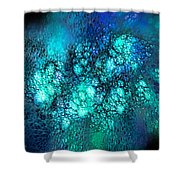 Space 01 Shower Curtain