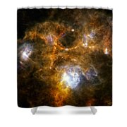 Space Dust Cloud Ngc 7538 Shower Curtain
