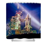 Space Shuttle Columbia Shower Curtain
