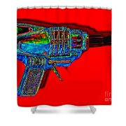Spacegun 20130115v1 Shower Curtain