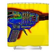 Spacegun 20130115v2 Shower Curtain