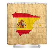 Spain Shower Curtain