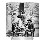 Spain Cowboys, C1875 Shower Curtain